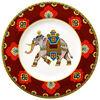 Samarkand Rubin piatto da colazione, , large