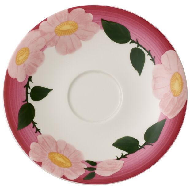 Rose Sauvage framboise piattino per tazza da colazione, , large