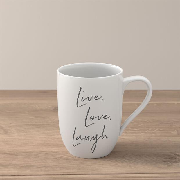 "Statement taza ""Live Love Laugh"", , large"