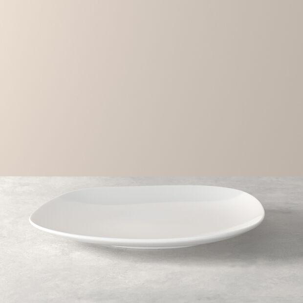 Organic White piatto piano 28 x 24 x 3cm, , large