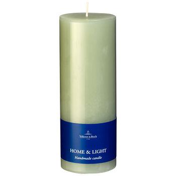 Essentials Candela Fog Green Pillar 7x19 7x19cm