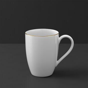 Anmut Gold tazza con manico, bianco/oro