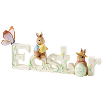 Spring Fantasy Accessories Scritta decorativa Pasqua 33,4x6,3x13,6cm