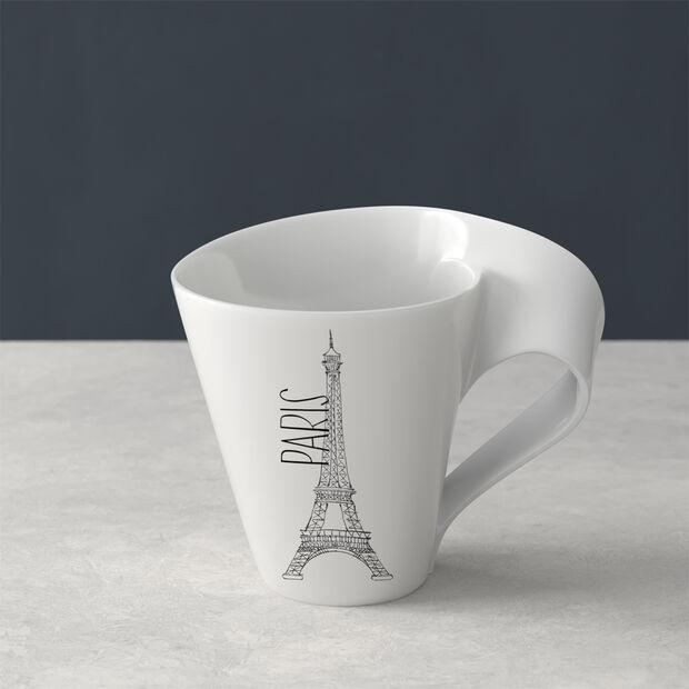 Modern Cities taza grande de café, Paris, 300ml, , large
