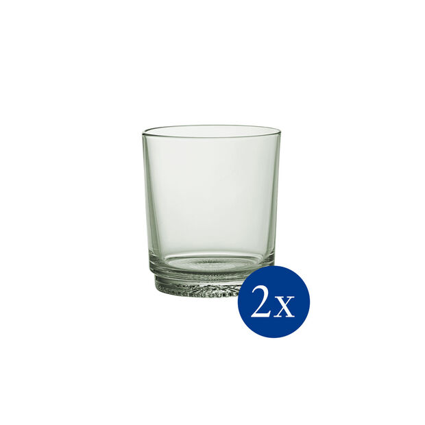 like.by Villeroy & Boch it's my match set di bicchieri da acqua, serie Mineral, verde, 9 x 10 cm, 2 pezzi, , large