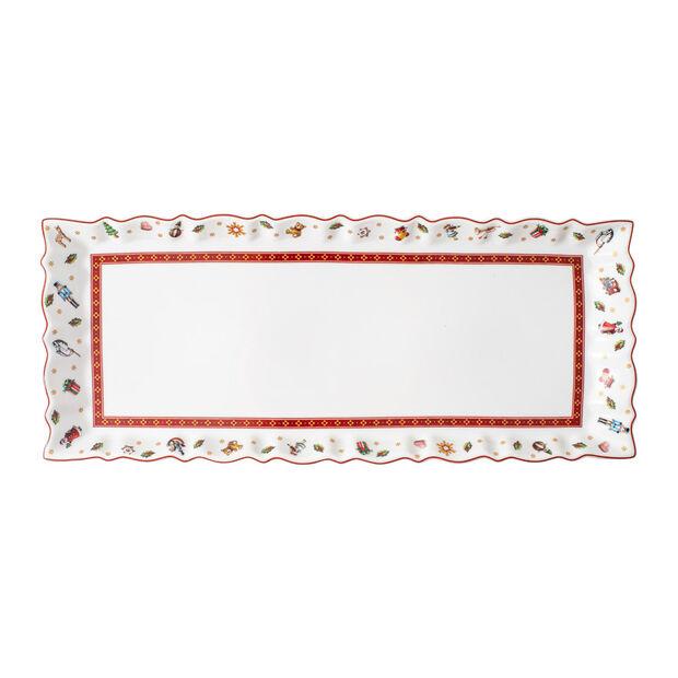 Toy's Delight vassoio per torta multicolore/rosso/bianco, 39 x 16 cm- Villeroy & Boch, , large