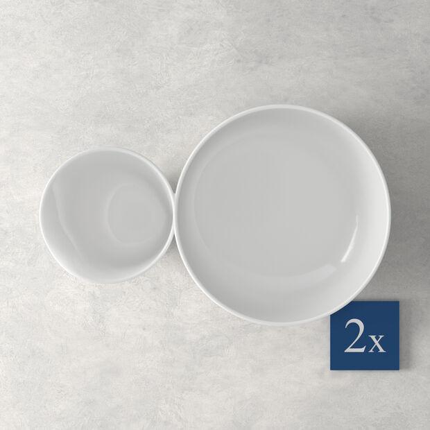 Soup Passion Zuppiera grande Set 2 pezzi 27,5x17,3x6,8cm, , large
