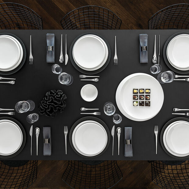 NewMoon piatto da portata, 37 cm, bianco, , large