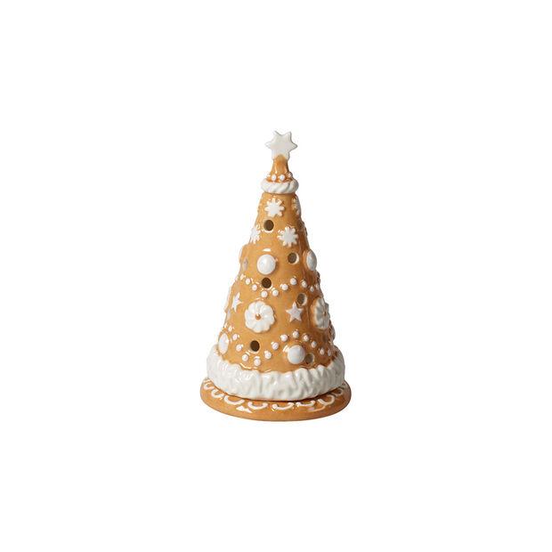 Winter Bakery Decoration Albero di pan di zenzero piccolo 8x8x15cm, , large