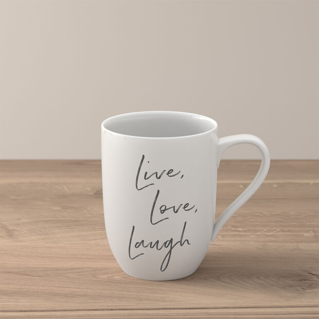"Statement tazza ""Live Love Laugh"", , large"