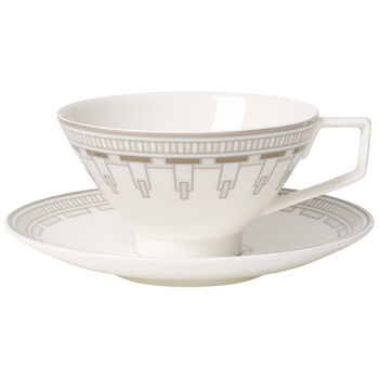 La Classica Contura Tazza tè con piattino 2pz.
