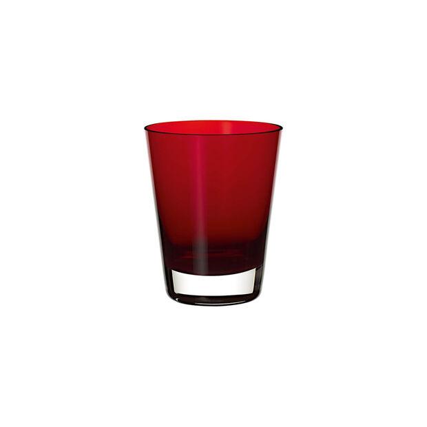 Colour Concept bicchiere da cocktail/acqua Red, , large
