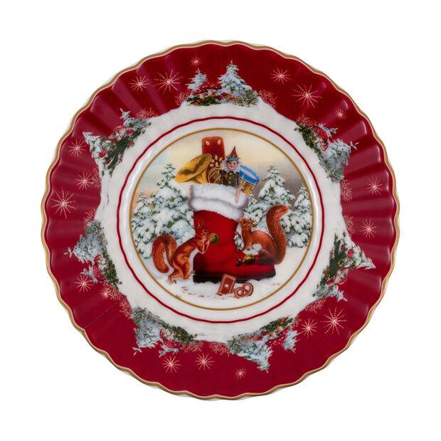 Toy's Fantasy fuente pequeña con motivo de bota, varios colores/rojo/blanco, 16 x 16 x 3 cm, , large