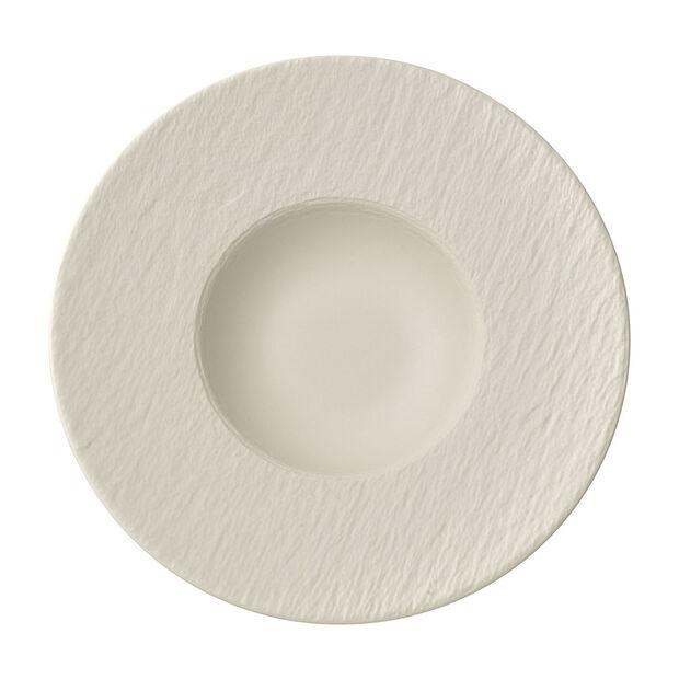 Manufacture Rock blanc Piatto pasta 28x28x5cm, , large