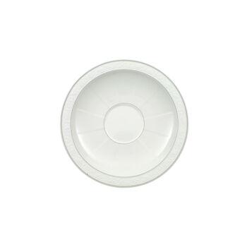 Gray Pearl piattino per tazza da cappuccino