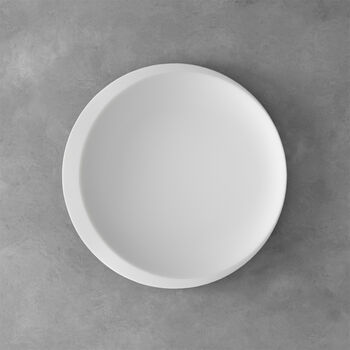 NewMoon centro de presentación, 37 cm, blanco