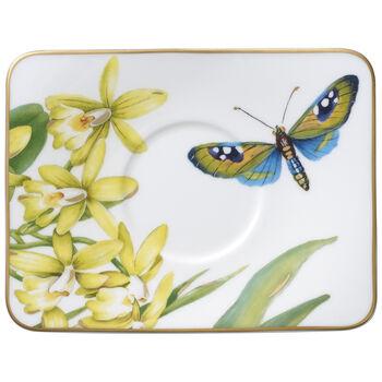 Amazonia piattino per tazza da espresso 14x11 cm