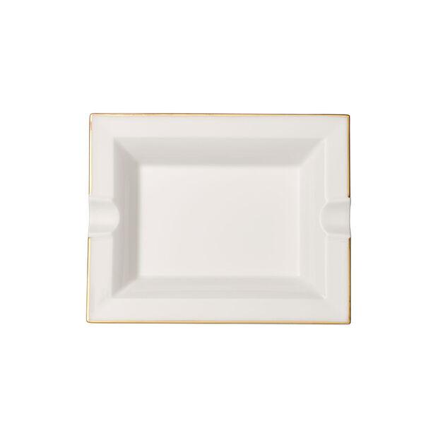 Anmut Gold posacenere, 17 x 21 cm, bianco/oro, , large