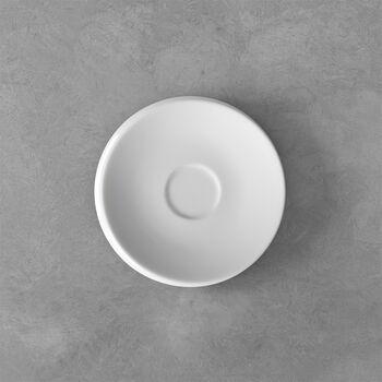 NewMoon piattino per tazzina da caffè, bianco
