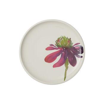Artesano Flower Art plato llano