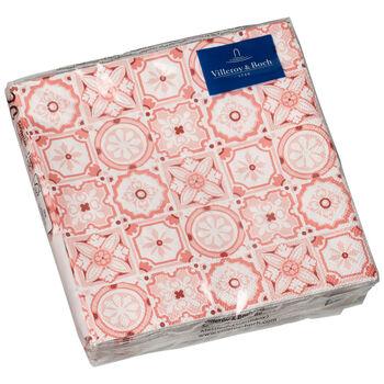 Tovaglioli di carta Rose Caro 25x25cm, 20 pezzi