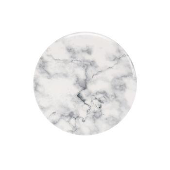 Marmory piatto da colazione White, 21x21x1,5cm