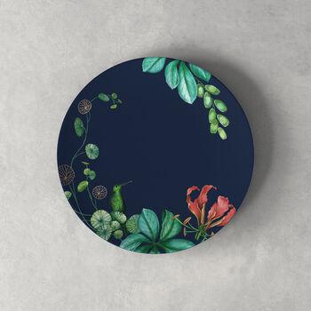 Plato de postre/desayuno Avarua, 22cm, azul/multicolor
