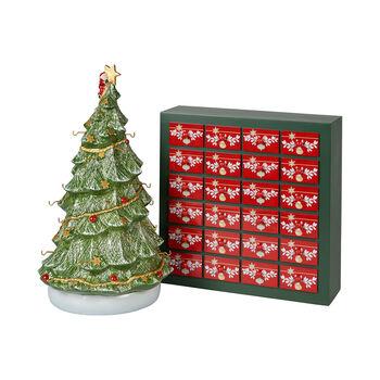 Christmas Toys Memory Calendario dell'Avvento 3D albero 25x32x43cm