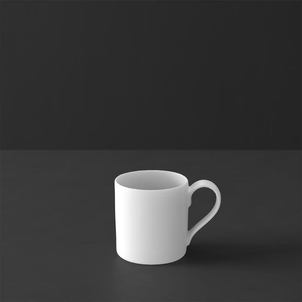 MetroChic blanc tazza da moka e da espresso, 80 ml, bianco, , large