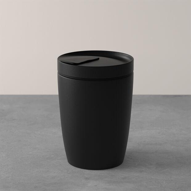 Manufacture Rock Coffee To Go tazza mug da viaggio, 290 ml, nero opaco, , large