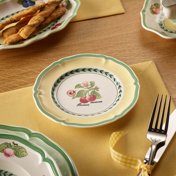 French Garden Valence plato fruta/queso/pan, , large