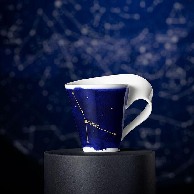 NewWave Stars taza con motivo de Cáncer, 300 ml, azul/blanco, , large