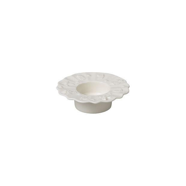 Toy's Delight Royal Classic portavelas de té, blanco, 9,5cm, , large