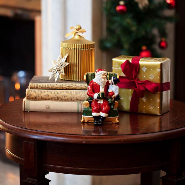 Christmas Toy's figura de Papá Noel en el sillón, varios colores, 10 x 10 x 15cm, , large