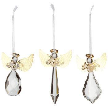 Winter Collage Accessoires Pend vetro angelo o S3 21x11,5x3cm