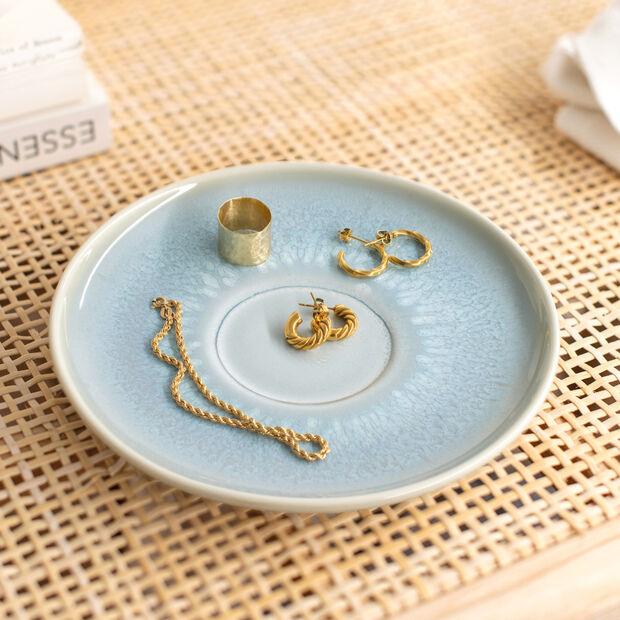 Crafted Blueberry piattino per tazza da caffè, turchese, 15 cm, , large