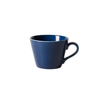 Organic Dark Blue taza de café, azul oscuro, 270 ml