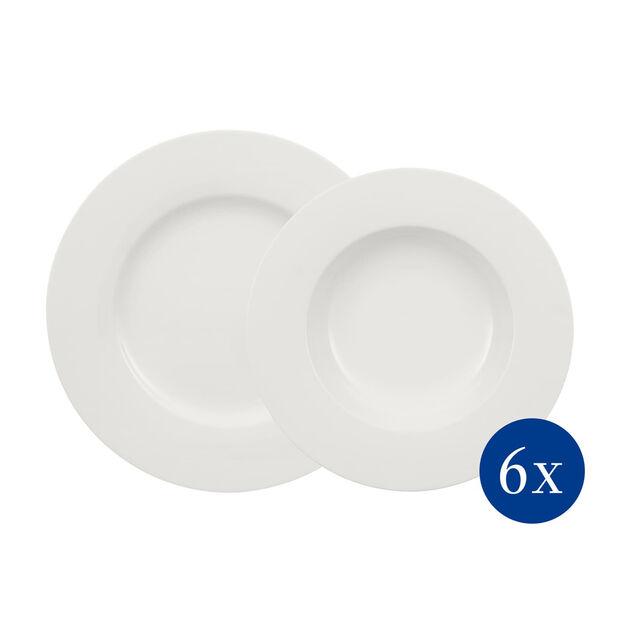 Wonderful World White set para mesa de 12 piezas, , large