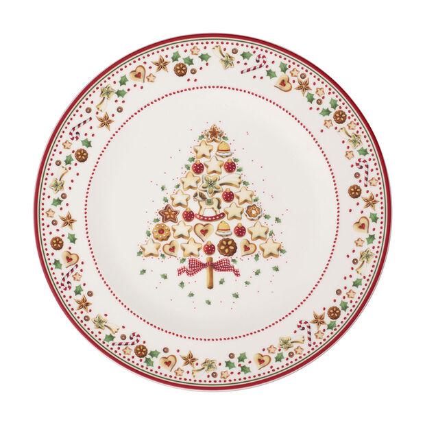 Winter Bakery Delight piatto segnaposto, rosso/multicolore, , large