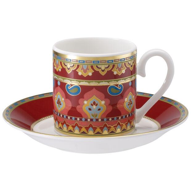 Samarkand Rubin Tazza espresso con piattino 2pz., , large