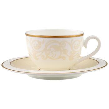 Ivoire Tazza caffè/tè con piattino 2pz.