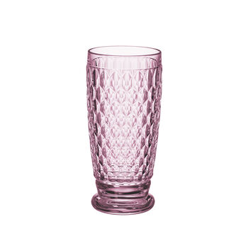 Boston Coloured Bicchiere per long drink Rose