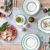 French Garden Green Line Piattino tazza colazione 17cm, , large