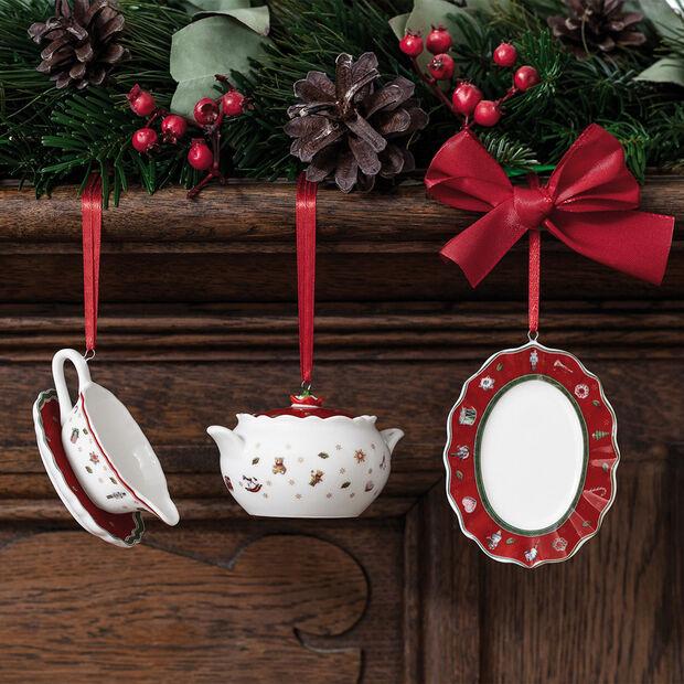 Toy's Delight Decoration set di articoli per servire da decorazione, 3 x 6 cm, 3 pezzi, , large