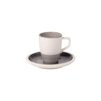 Manufacture gris Tazza espresso con piattino 2pz.