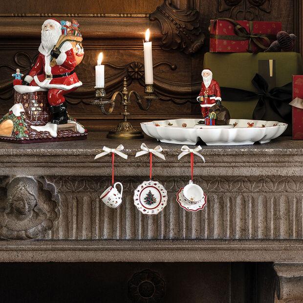Toy's Delight Decoration Ornamenti Servizio da tavola 3 pz. 6,3cm, , large