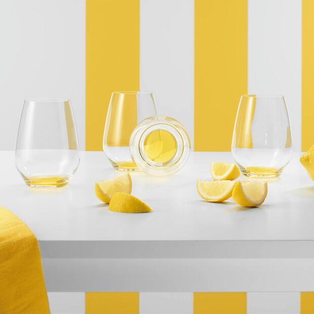 Colourful Life Lemon Pie set di bicchieri da cocktail/acqua 4 pezzi, , large