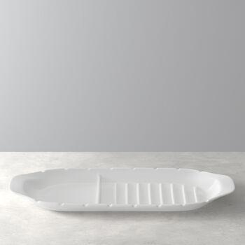 BBQ Passion fuente para servir XL con soporte para brochetas