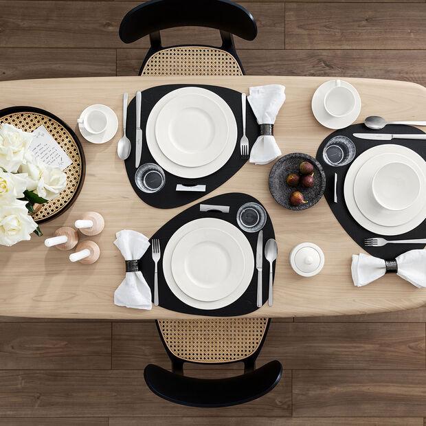 Twist White plato de desayuno, , large