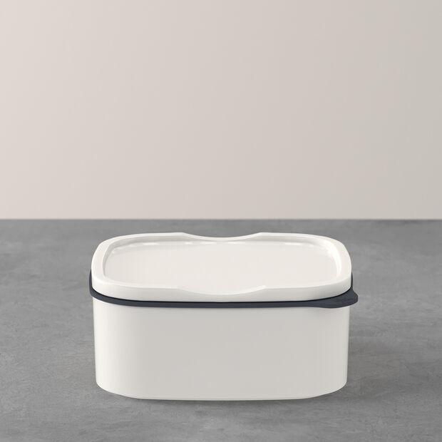 ToGo&ToStay porta pranzo, 13x10x6cm, quadrato, bianco, , large
